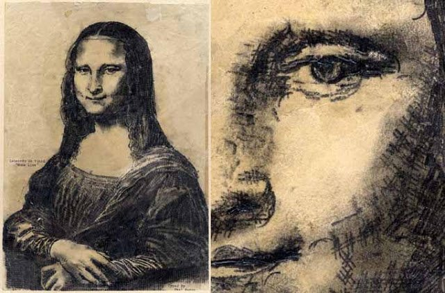 Inspirational! Finger Painting on a Typewriter